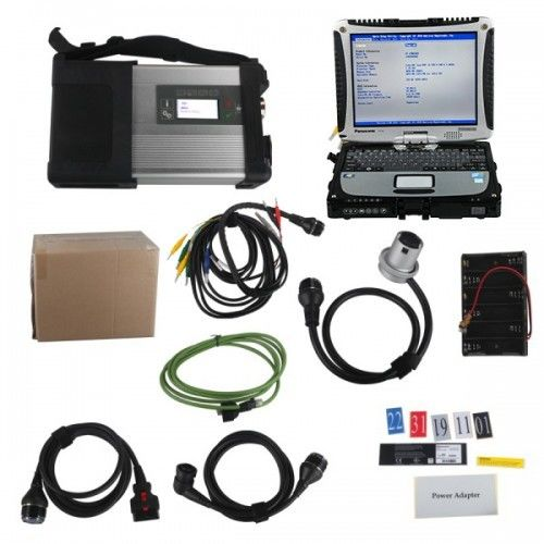 Multi Sprachmaschinen-Diagnose-Tool mit SSD plus Laptop-Software Panasonics CF19 I5 4GB